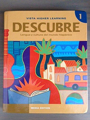 9781605767772: Descubre, Nivel 1: Lengua Y Cultura Del Mundo Hispanico (Spanish Edition)