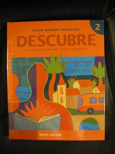 Descubre, Media Edition, Level 2, Student Edition w/ Supersite Code