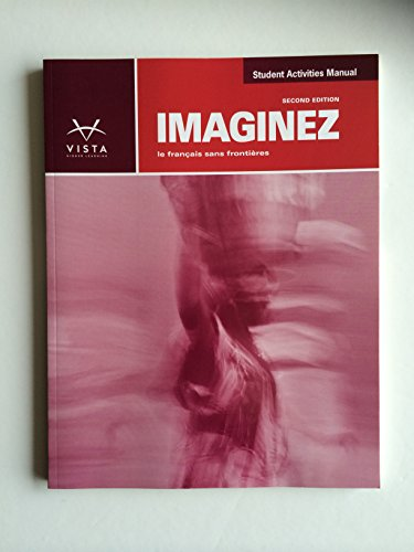 Imaginez, 2nd Edition, Student Activities Manual