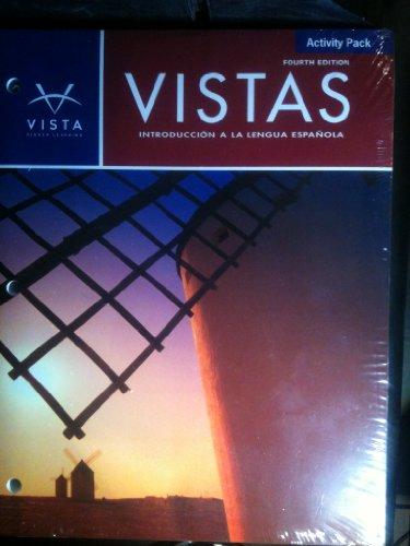 9781605769509: Vistas: Introducccion a La Lengua Espaniola: Activity Pack