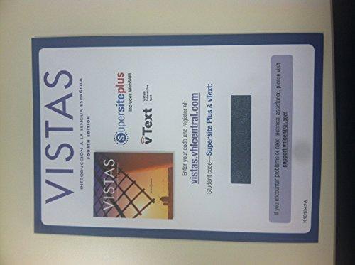 Vistas, 4th Edition, Supersite Plus Code (Supersite