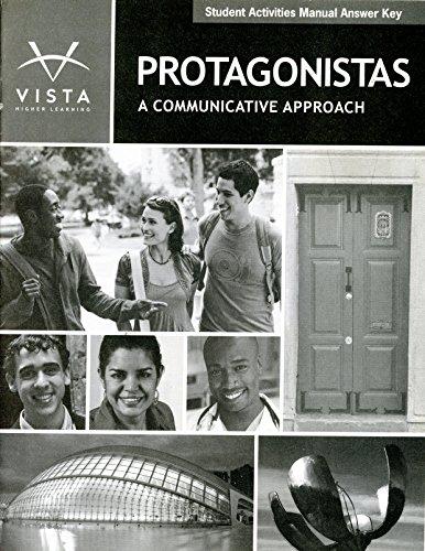 9781605769806: Protagonistas Student Activities Manual ...