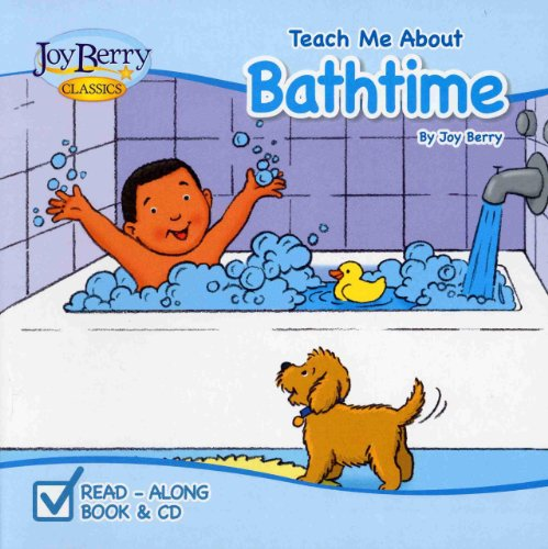 Teach Me About Bathtime (Board Book and CD): Berry, Joy