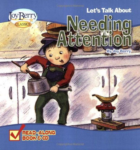 9781605772172: Let's Talk About Needing Attention Book and CD
