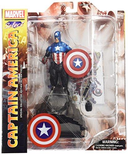 9781605843360: Marvel Select Captain America Action Figure