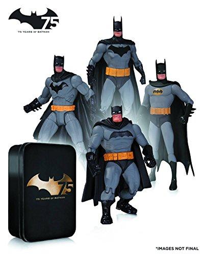 9781605845654: BATMAN 75TH ANNIVERSARY ACTION FIGURE 4 PACK SET 2
