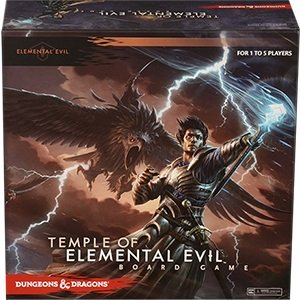 9781605846262: Dungeons & Dragons Temple of Elemental Evil Board Game