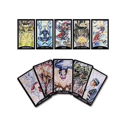 9781605846606: Dc Comics Justice League Tarot Cards