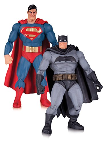 9781605847009: Dark Knight Returns 30th Anniversary Superman and Batman Action Figure 2-pack