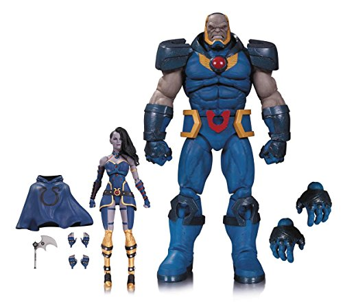 9781605848419: Darkseid and Grail Action Figure 2-pack