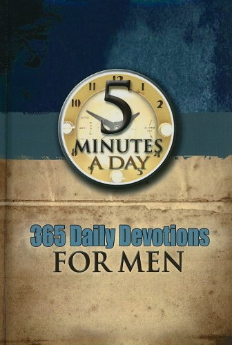 9781605870571: 365 Daily Devotionals for Men (5 Minutes a Day)