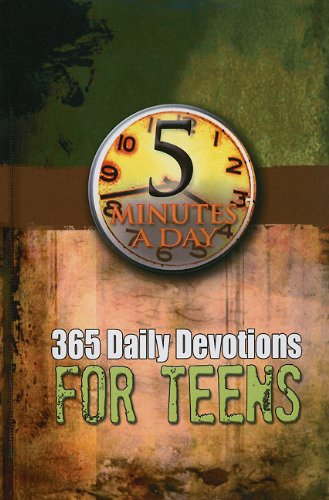 9781605870595: 5 Minutes A Day 365 Daily Devotions For Teens