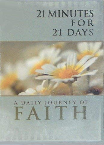 21 Minutes for 21 Days: A Daily Journey of Faith: Stores, Family Christian