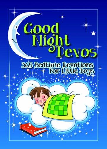 9781605874425: Good Night Devos: 365 Bedtime Devotions for Little Boys