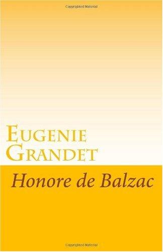 9781605892368: Eugenie Grandet