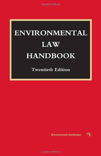 9781605902784: Environmental Law Handbook