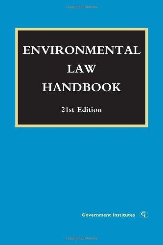 9781605907253: Environmental Law Handbook
