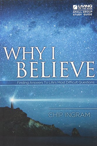 9781605931272: Why I Believe Study Guide: Finding Answers to Life's Most Difficult Questions