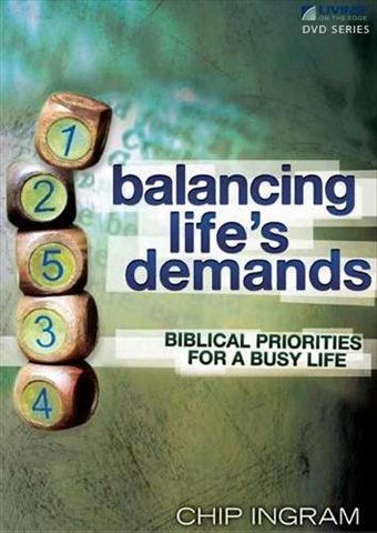 9781605931296: Balancing Life's Demands DVD with 1 Study Guide: Biblical Priorities for a Busy Life