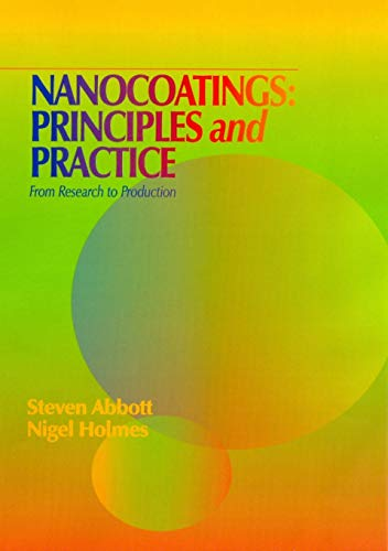9781605950907: Nanocoatings: Principles and Practice from Research to Production