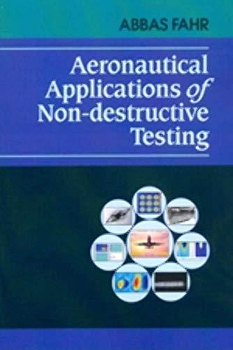 9781605951201: Aeronautical Applications of Non-destructive Testing