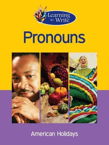 Pronouns (Learning to Write): Deborah Lambert