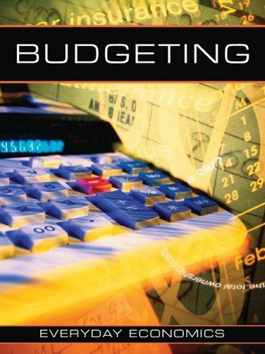 Budgeting (Everyday Economics): Blaine Wiseman, Blaine Wiseman