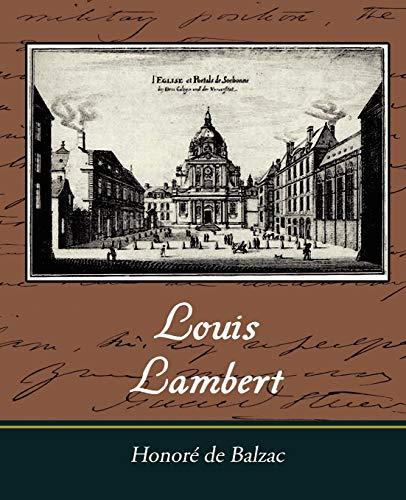 9781605970943: Louis Lambert