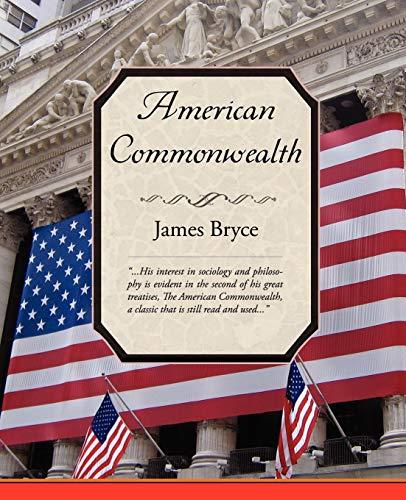 9781605971421: American Commonwealth
