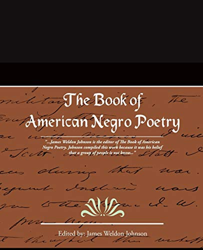 9781605975306: The Book of American Negro Poetry