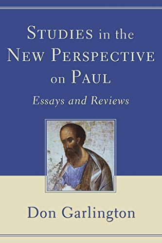 9781606080047: Studies in the New Perspective on Paul: Essays and Reviews