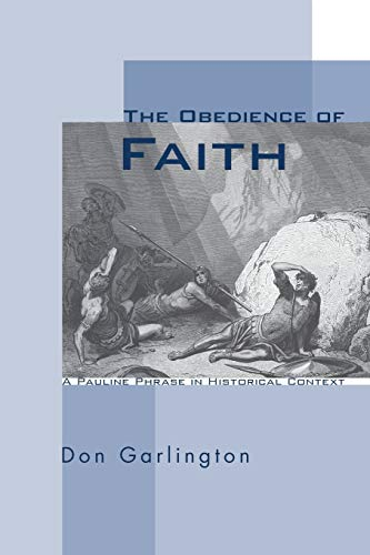 9781606088265: The Obedience of Faith: A Pauline Phrase in Historical Context