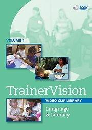 9781606170199: TrainerVision: Language & Literacy DVD