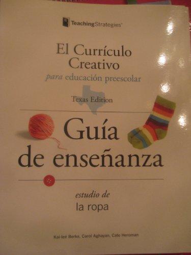 9781606170892: El Curriculo Creativo Para Educacion Preescolar (La ropa Guia de ensenanza)