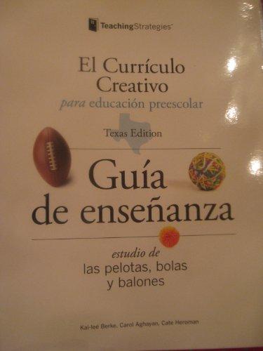 9781606170939: El Curriculo Creativo Para Educacion Preescolar (Las pelotas, bolas y balones)