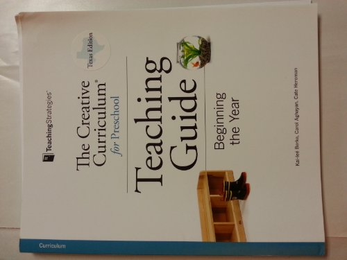 9781606173824: The Creative Curriculum for Preschool Teaching Guide - Beginning the Year