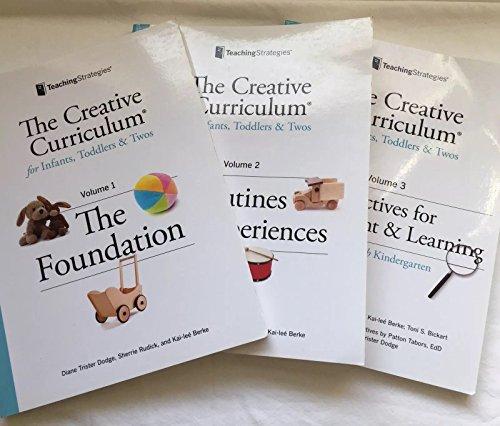 9781606174258: The Creative Curriculum for Infants, Toddlers & Twos (3 Volume Set)