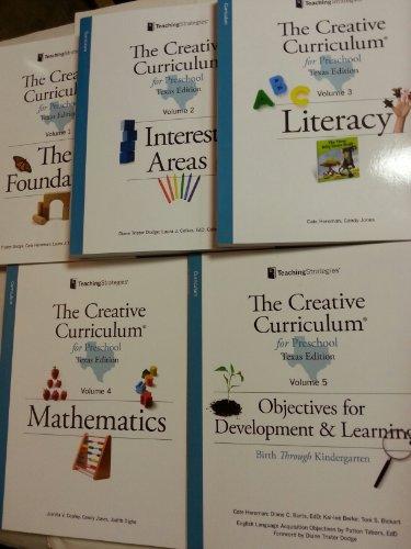 9781606174333: The Creative Curriculum for Preschool Volumes 1-5 Texas Edition
