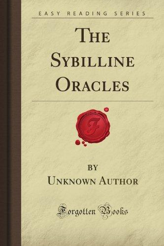 The Sybilline Oracles (Forgotten Books): Unknown de Author