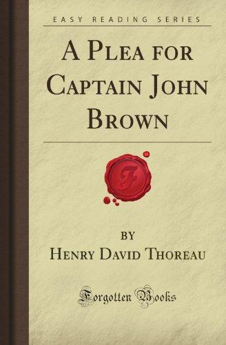 a plea for captain john brown essay