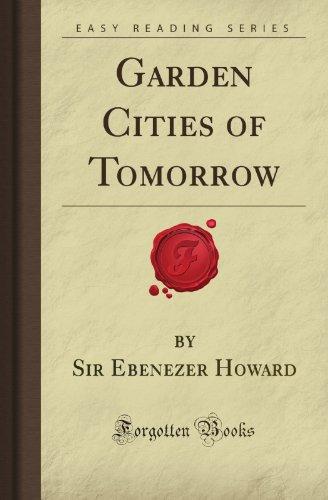 9781606201862: Garden Cities of Tomorrow (Forgotten Books)