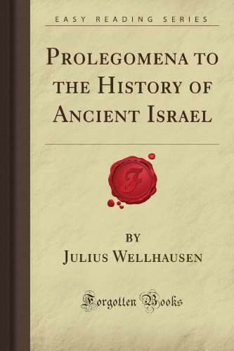 9781606202050: Prolegomena to the History of Ancient Israel (Forgotten Books)