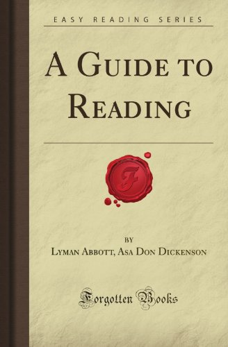 9781606209738: A Guide to Reading (Forgotten Books)