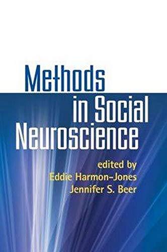 9781606230404: Methods in Social Neuroscience