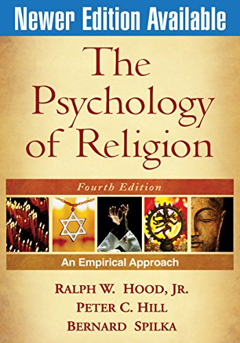 The Psychology of Religion. An empirical approach