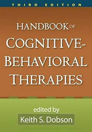 9781606234372: Handbook of Cognitive-Behavioral Therapies, Third Edition