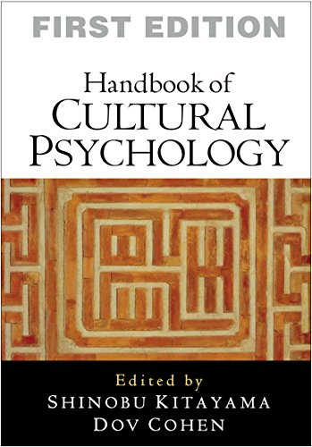 9781606236116: Handbook of Cultural Psychology