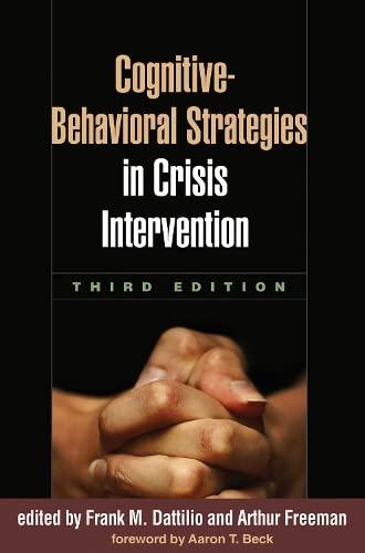 9781606236482: Cognitive-Behavioral Strategies in Crisis Intervention