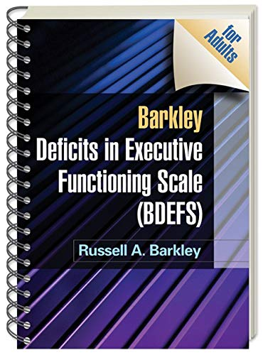 9781606239346: Barkley Deficits in Executive Functioning Scale (BDEFS for Adults)