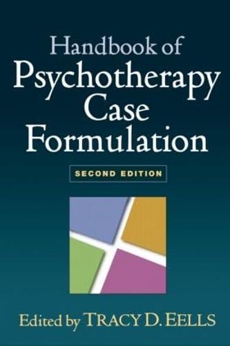 9781606239421: Handbook of Psychotherapy Case Formulation, Second Edition